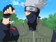 Kakashi mostra seus sinos