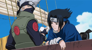 Kakashi&Sasuke movie1