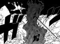 Sasuke protecting Naruto