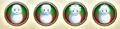 Naruhina snowmen icons