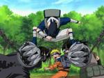 Sasuke Saving Naruto