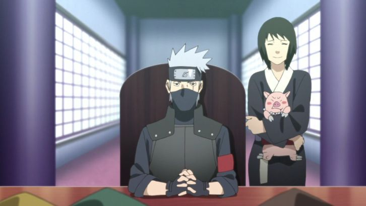 Naruto shizune and kakashi