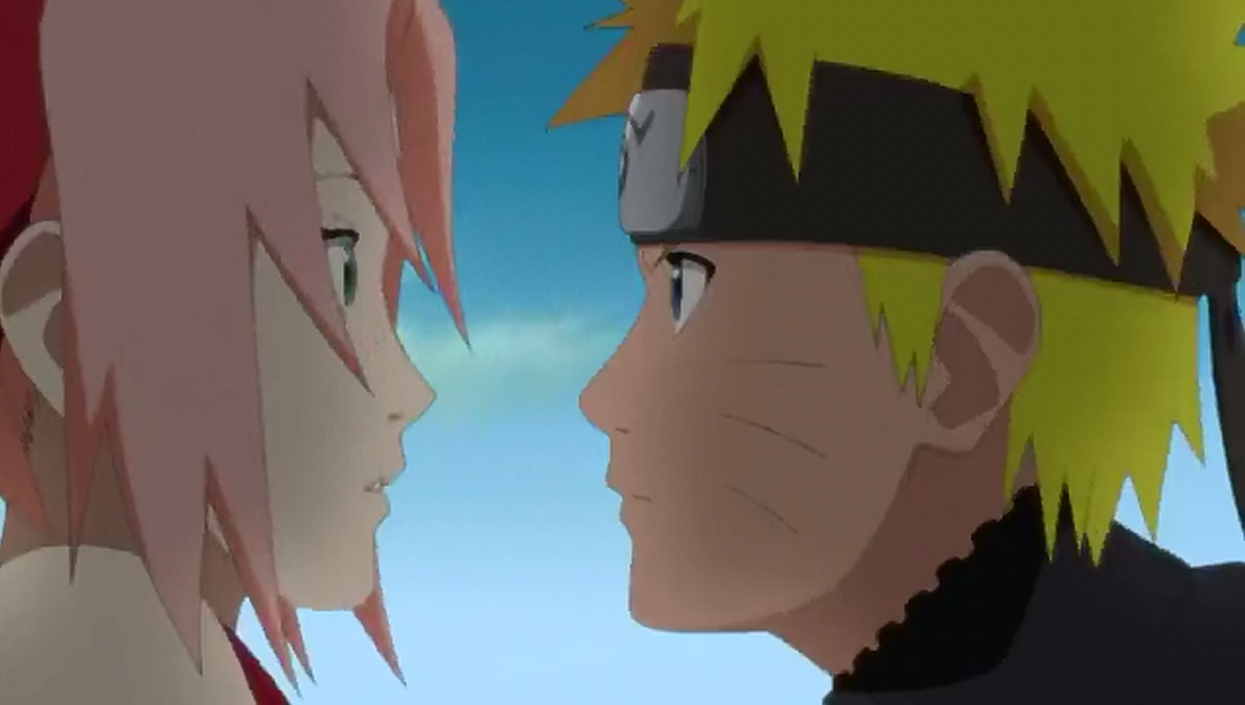 What happens in naruto dating sim