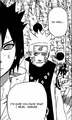 Naruto reminding Sasuke of the bridge scene