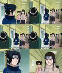 Naruto ep 21 Sasuke Neji & Tenten moment