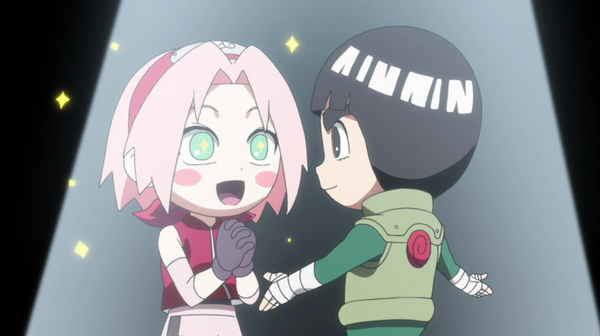Rock Lee And Sakura
