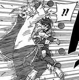 Sasuke teleports to Naruto