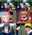 Team 7 photo taking moments (SasuSaku) omake 53
