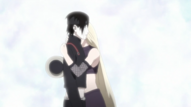 Sai and Ino hug ep 493