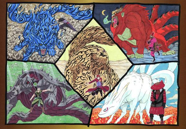 Jinjuriki and Bijuu page one by OmegaX91