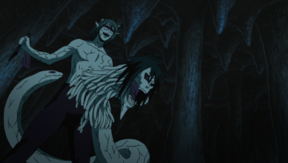 Kabuto using Orochimaru's powers