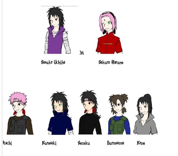 Image - Sasuke and Kids family tree style.png | Naruto ...