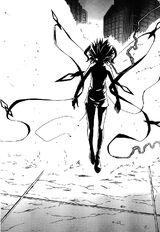 Black Lightning Release Chakra Mode