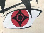 Kazuto awakens Eternal Mangekyou Sharingan