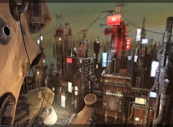 Bakura Village (Ame By CDB ART)