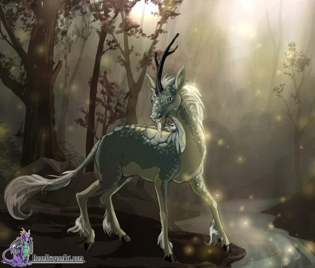 Fantasy and mythical creature by Sandara | Magic Art World