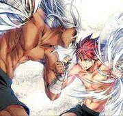 Okuyuki and A Fellow Combatant
