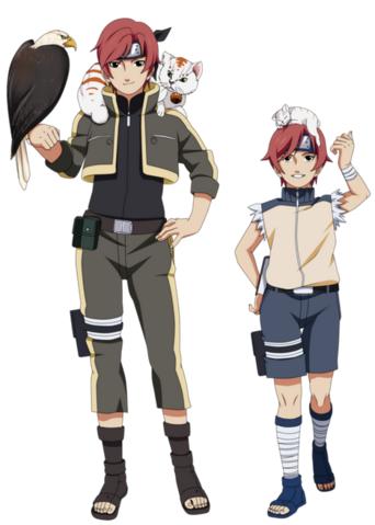 Anime Hokage Ninja Allied Shinobi Forces Ren Forehead Protector Headband Cosplay