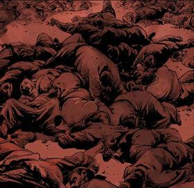 Bodies from war