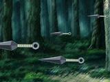 Jutsu: Clon de sombra de Kunai