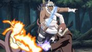 Nagato using the Asura Path
