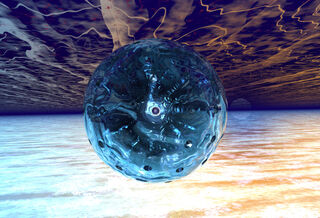 Energy Globe Sphere by greywolf101920