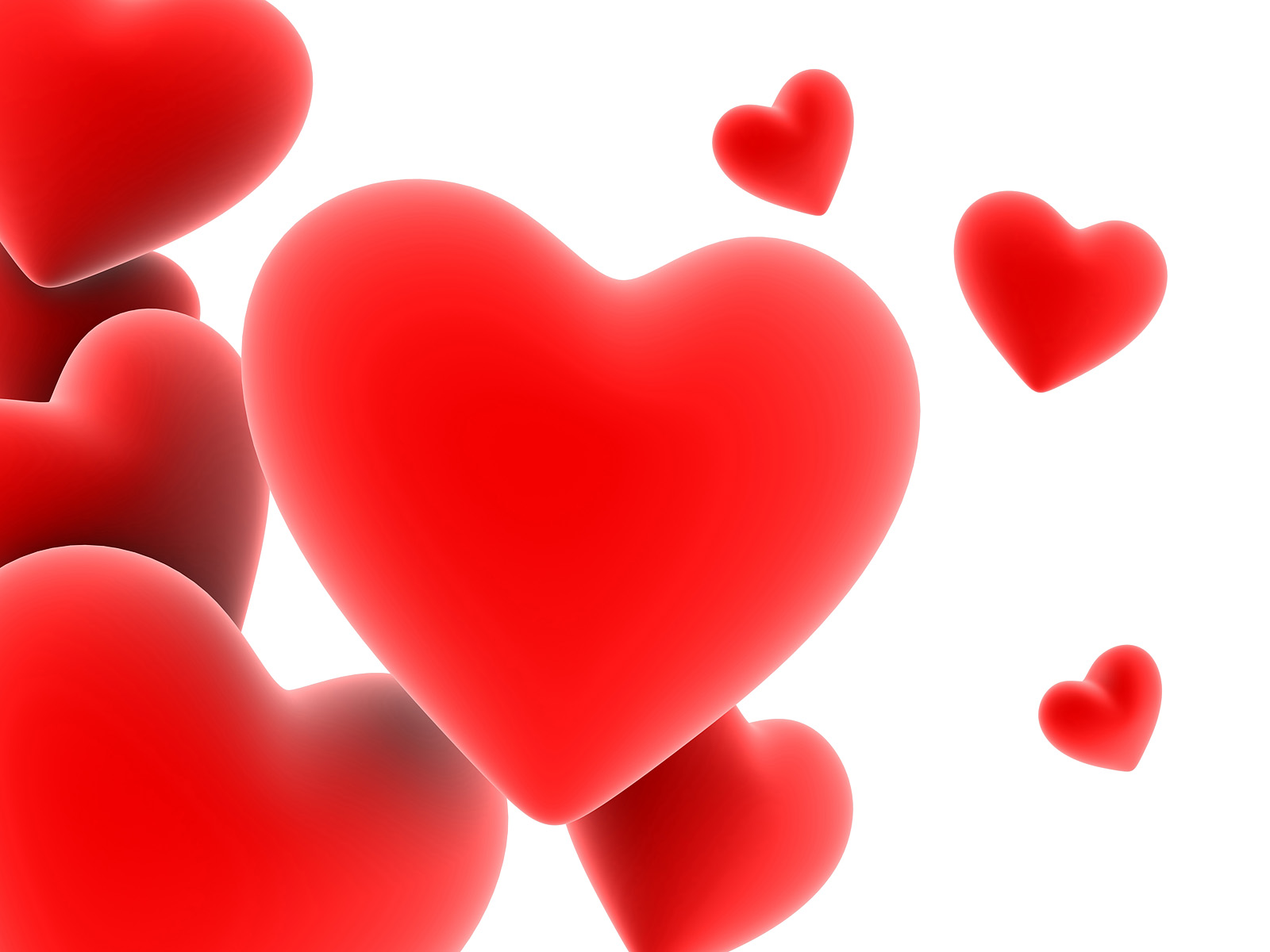 1269850209 1600x1200 Floating Red Heart Wallpaper