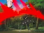 Eisei uses crimson slash