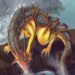Armored Salamander