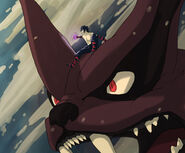 Menma and dark 9 tails by amandas sketches-d5a3co3