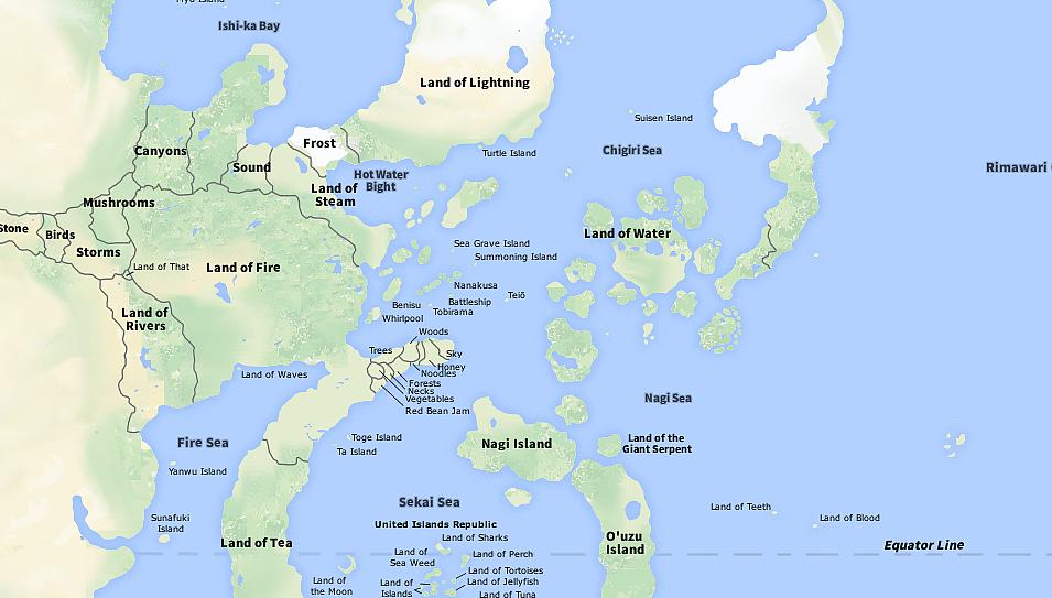 World Geography   Naruto Fanon Wiki   FANDOM powered by Wikia