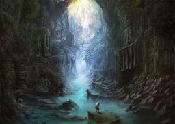 Deeper in Hyōukai Cave