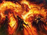 Fire Release: Great Dragon Bomb Technique