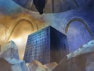 Poneglyph in den Katakomben von Alubarna