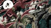 Satoru and Nine-tails Vs Akihiro