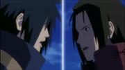 Satoru vs Akihiro Senju