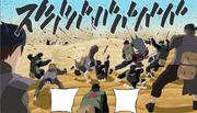 Satoru Uchiha attacks
