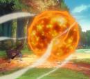 Fire Release: Great Fireball Technique