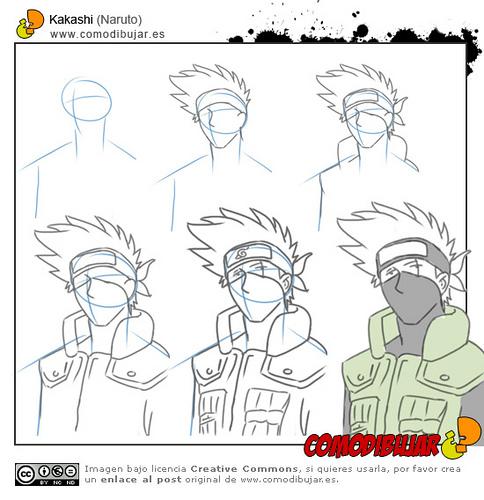 Imagen  Como dibujar a Kakashijpg  Anime y Peliculas  FANDOM