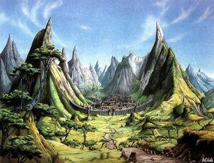 Village Hidden in the Vallys