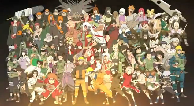 Naruto Shippuden Ultimate Ninja Storm Generation 2012 video game featuring over 70 playable characters for xbox 360 PS3
