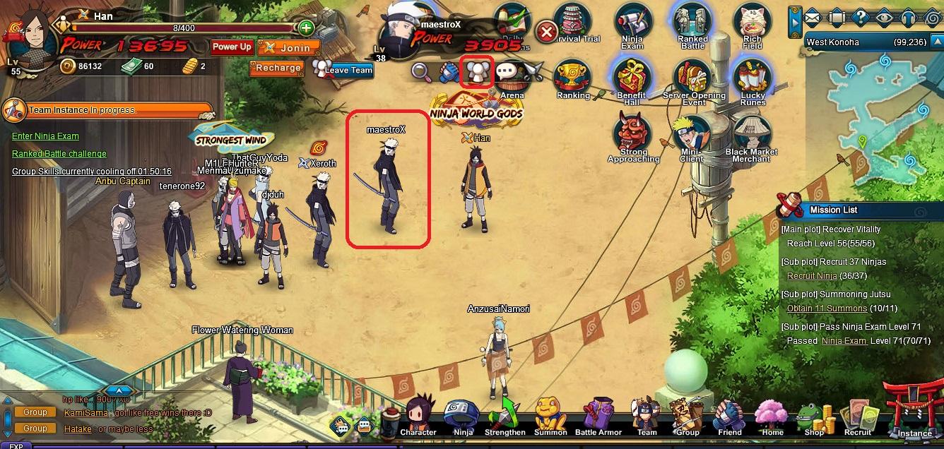 Team   Naruto Online Oasis Games Wikia   FANDOM powered by Wikia