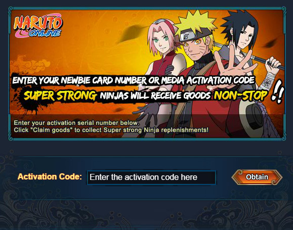 Naruto Online Code
