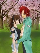 Akira y miu cerezo