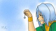Aiko consiguiendo el cascabel XD