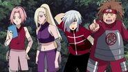 Choji , Rein , Ino y Sakura