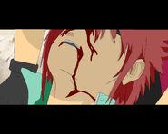 Akira apunto de morir