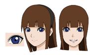 Miu Izumi Face Design