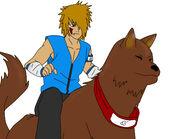 Ryota shippuden y su perro ninja