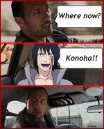 A donde vamos ¿¿ a konoha!!! XDD